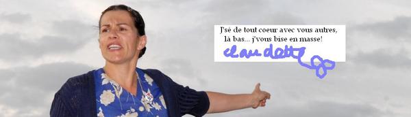 Claudette des Deux-Sèvres nous soutient !