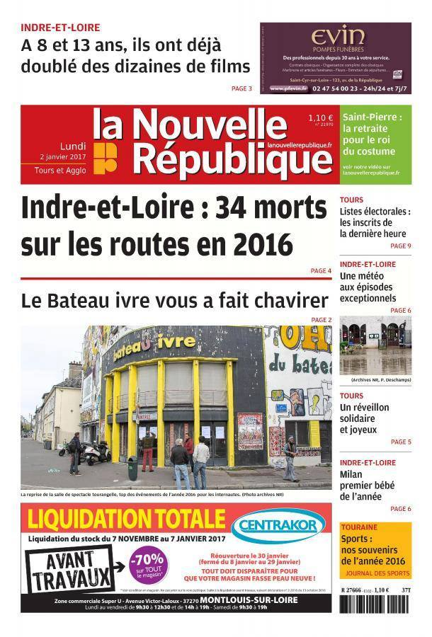 NR 2 jan 2017 1ere page