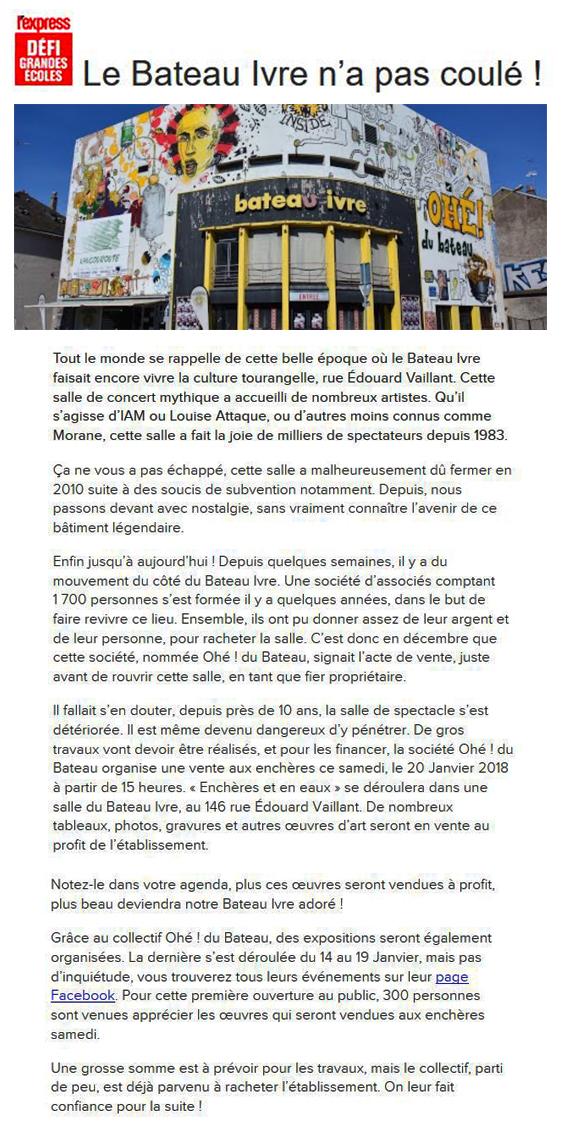 L'Express.fr 19-01-18