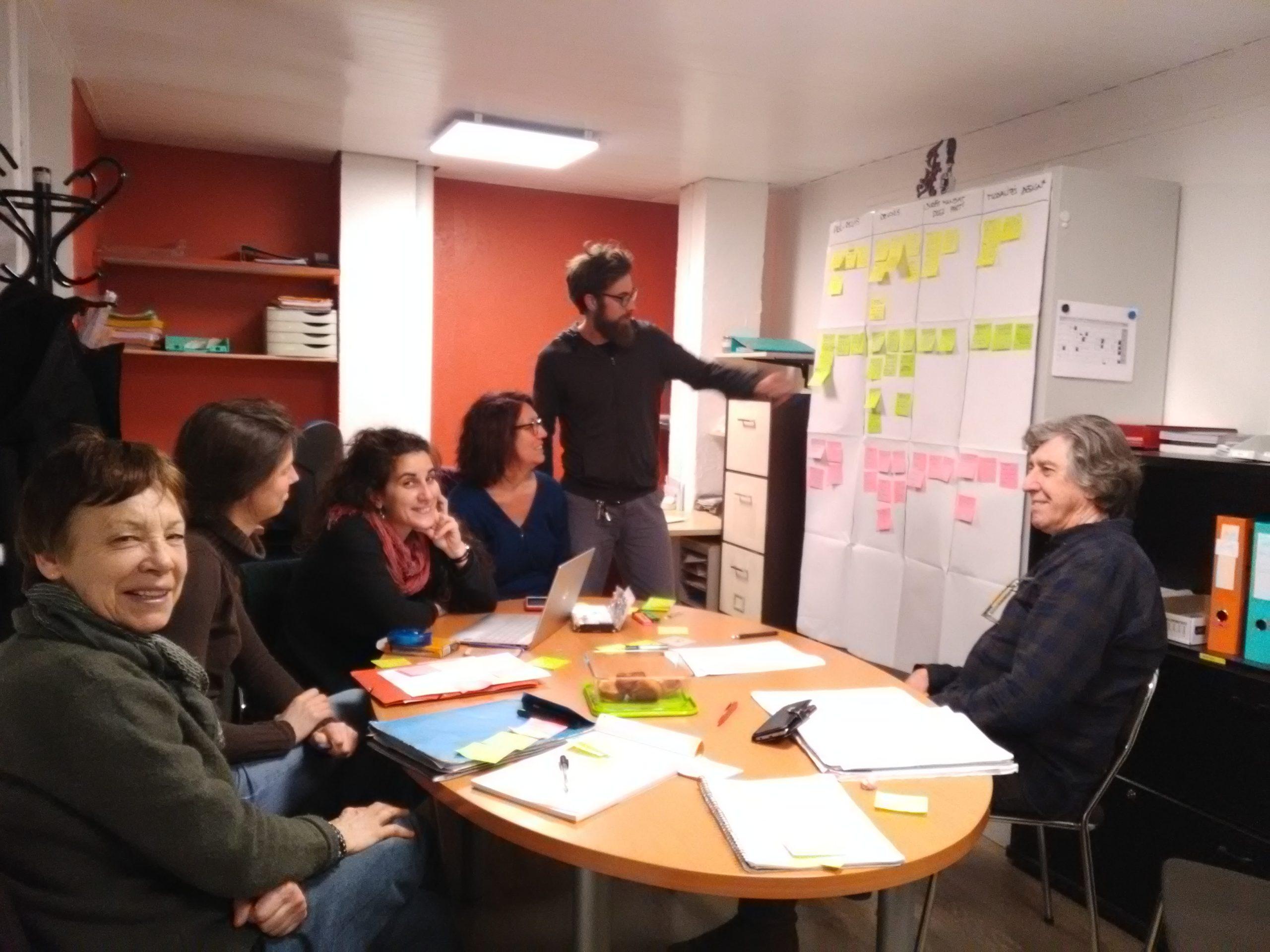 CR de réunion labo vie d'la coop du 4 mars 2019