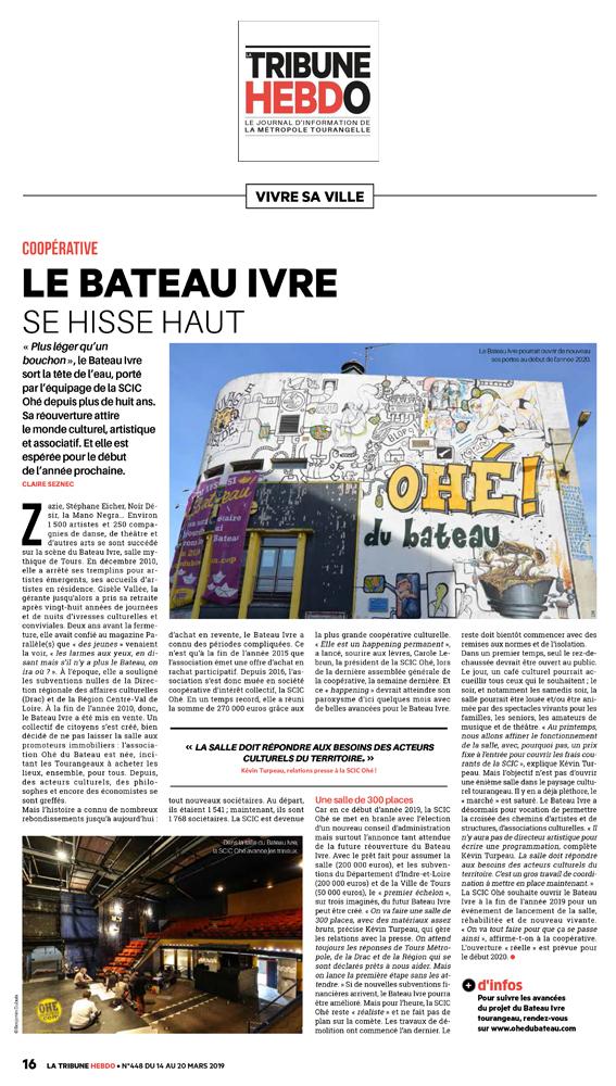 Tribune de Tours 12-03-2019