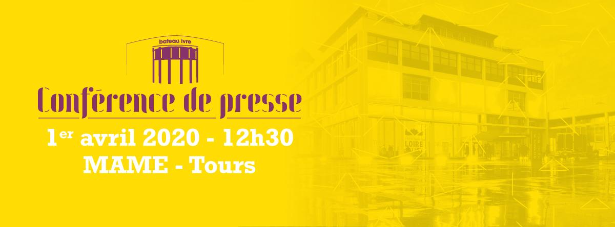 [annulation] mercredi 1er avril 2020 Conférence de presse